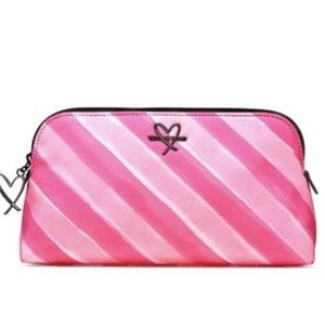NWT Victorias Secret Pouch Cosmetic Bag Pink